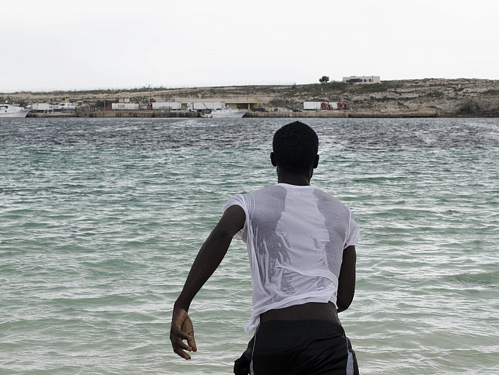 Lampedusa. The island of hope.