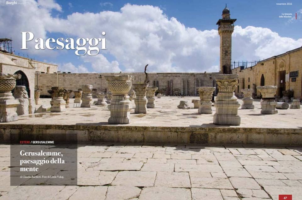 Gerusalemme, paesaggio della mente di Claudio Bacilieri. Foto di Linda Vukaj.