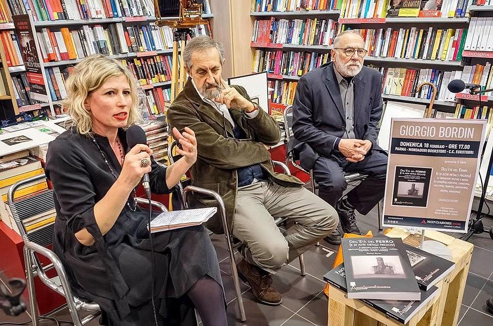 Presentazione del libro di Giorgio Bordin, Libreria Mondadori, Parma