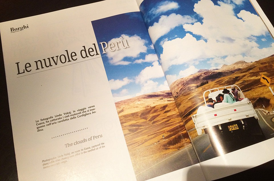 Le nuvole del Perù – Borghi Magazine, ottobre 2018